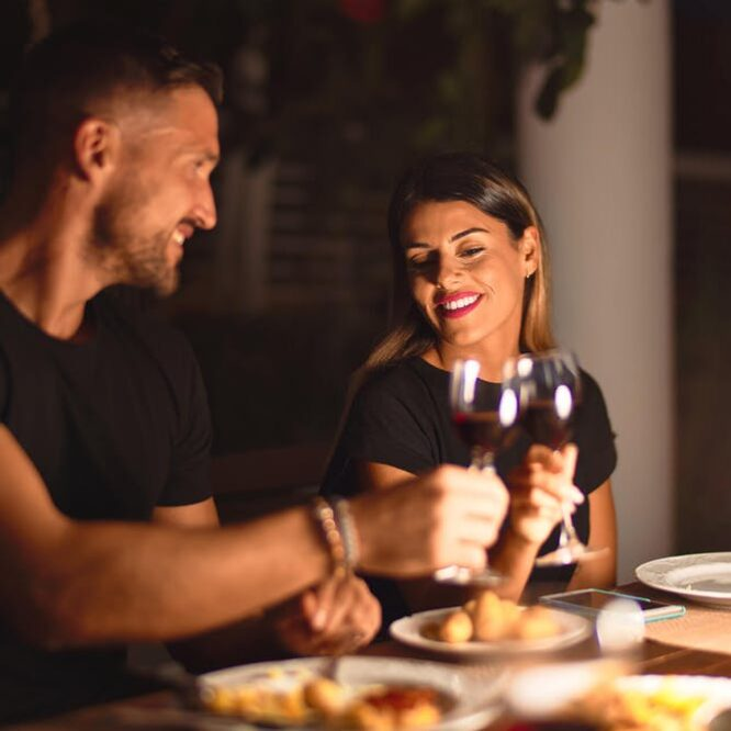 dîner romantique chez soi